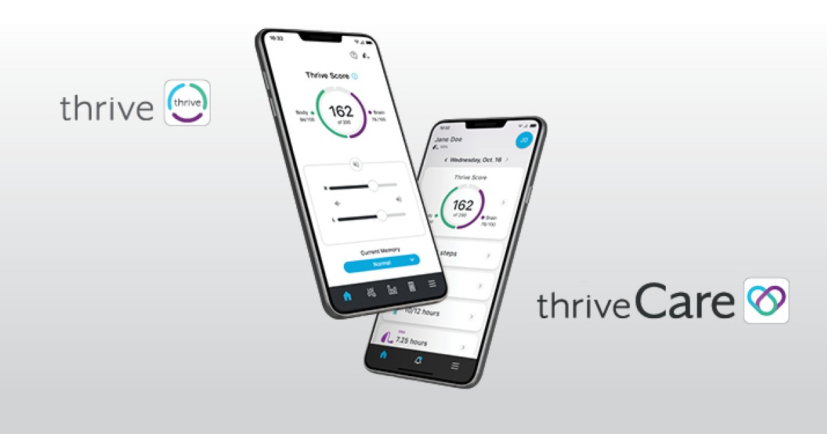 An image showing the Thrive App